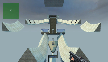 Viser gameplay for Counter-Strike: Source