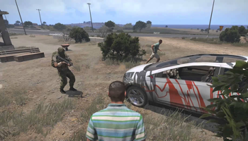 Viser gameplay for Arma 3