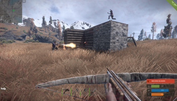 Viser gameplay for Rust