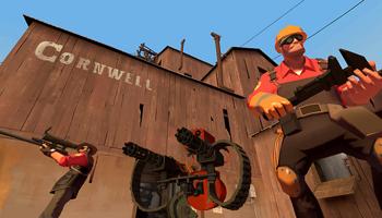 Viser gameplay for Team Fortress 2