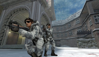 Viser gameplay for Counter-Strike Condition Zero