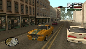 Viser gameplay for Grand Theft Auto San Andreas