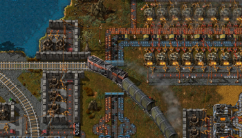 Viser gameplay for Factorio