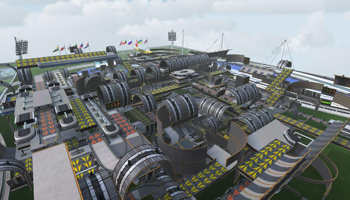 Viser gameplay for TrackMania Nations Forever